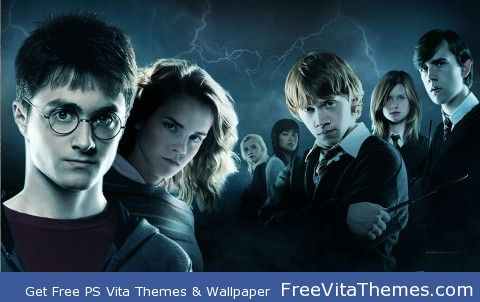 Harry Potter PS Vita Wallpaper