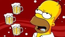 Download Homer Simpson PS Vita Wallpaper