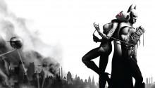 Download Batman & Catwoman PS Vita Wallpaper
