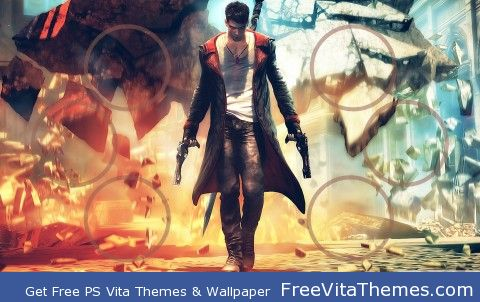 Devil May Cry PS Vita Wallpaper