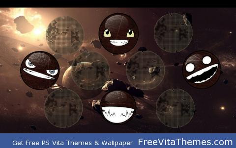Face Comets PS Vita Wallpaper