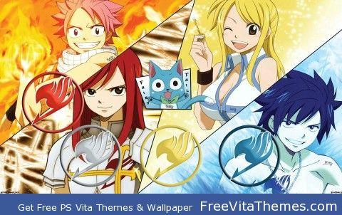 Fairy Tail PS Vita Wallpaper