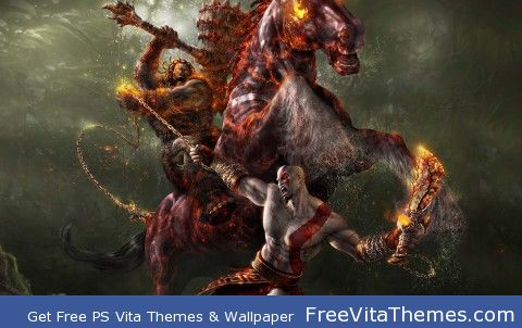 God Of  War 3 PS Vita Wallpaper