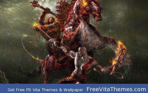 God Of  War 3 PS Vita Wallpaper