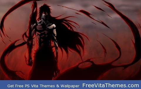 Ichigo Final Getsuga Tenshou PS Vita Wallpaper