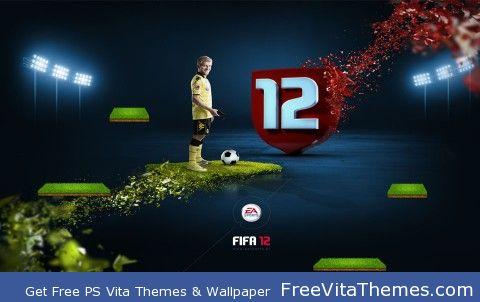 FIFA 2012 PS Vita Wallpaper