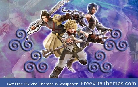 Kingdom Hearts 2 PS Vita Wallpaper