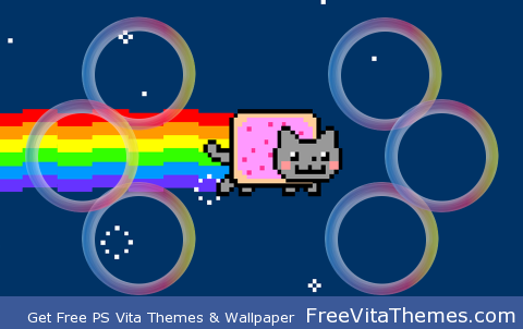 Nyan Cat PS Vita Wallpaper