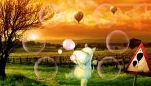 Download Moomin Troll PS Vita Wallpaper