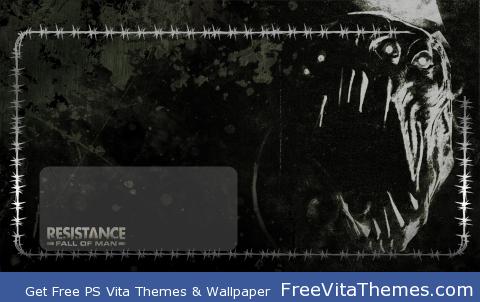 Resistance Fall of Man Lock Screen PS Vita Wallpaper