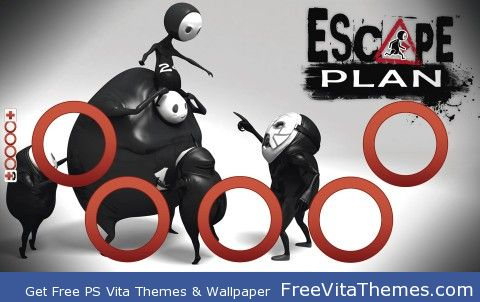 Escape Plan PS Vita Wallpaper
