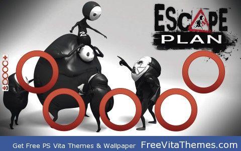 Escape Plan PS Vita Wallpaper