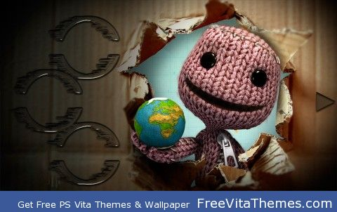 Little Big Planet PS Vita Wallpaper
