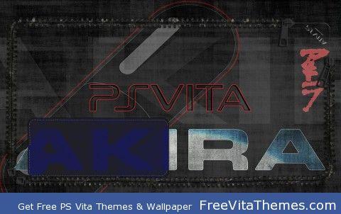 Akira Lockscreen PS Vita Wallpaper