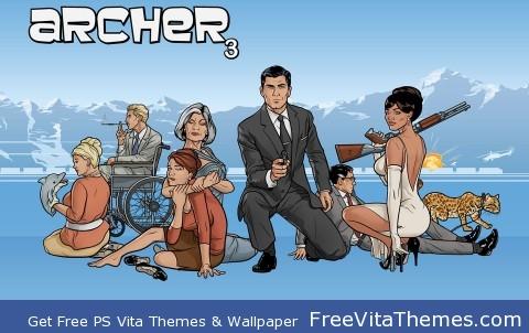 archer 3 PS Vita Wallpaper
