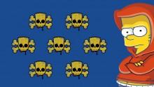 Download Bart Simpson PS Vita Wallpaper