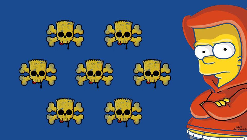 Bart Simpson PS Vita W...