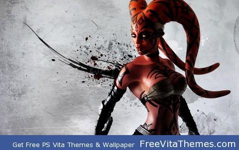 darth talon PS Vita Wallpaper