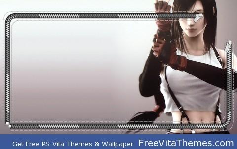 tifa 2zip PS Vita Wallpaper