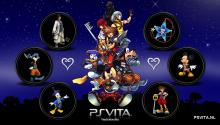 Download Kingdom Hearts PS Vita Wallpaper