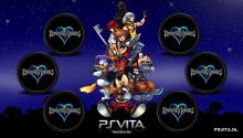 Download Kingdom of Hearts PS Vita Wallpaper