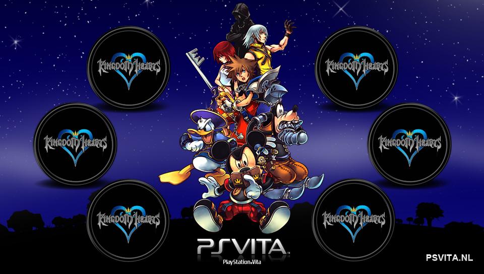 Kingdom of Hearts PS Vita Wallpapers - Free PS Vita Themes ... | 960 x 544 png 475kB