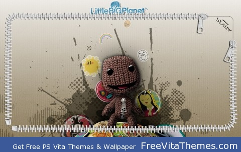 Little Big Planet Lockscreen PS Vita Wallpaper