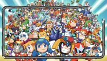 Download megaman zip PS Vita Wallpaper