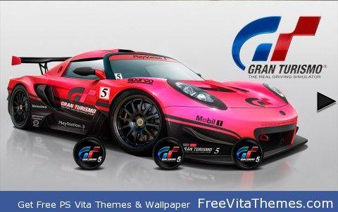 Gran Turismo 5 PS Vita Wallpaper