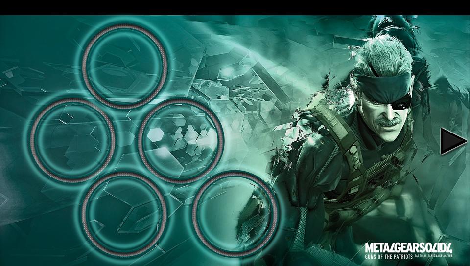 Metal Gear Solid 4 PS Vita Wallpapers