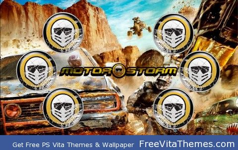 Motorstorm PS Vita Wallpaper