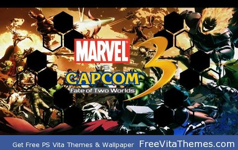 Marvel VS Capcom 3 PS Vita Wallpaper