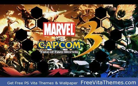 Marvel VS Capcom 3 PS Vita Wallpaper