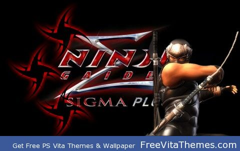 Ninja Gaiden Sigma Plus PS Vita Wallpaper