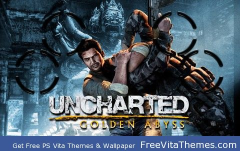 Uncharted: Golden Abyss PS Vita Wallpaper