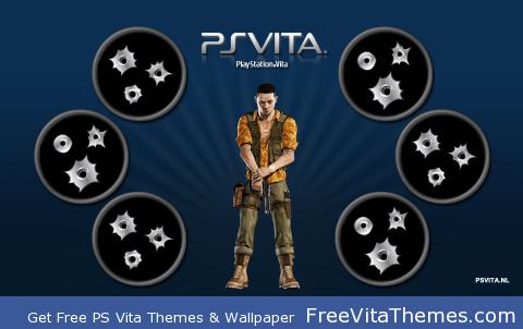 Uncharted: Eddy Raja PS Vita Wallpaper
