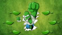 Download Hulk Homer PS Vita Wallpaper