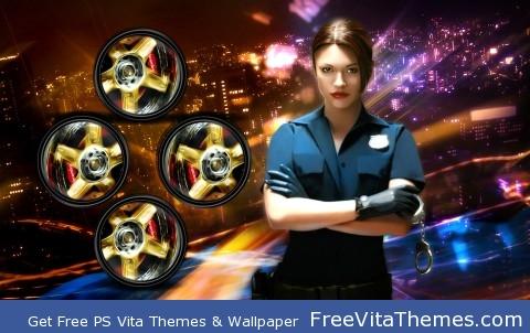 NFS Police PS Vita Wallpaper