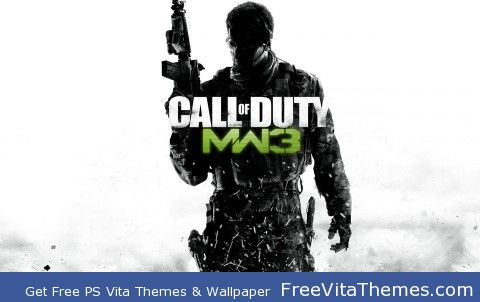 Modern Warfare 3 PS Vita Wallpaper