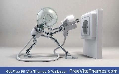Ampoule Man PS Vita Wallpaper