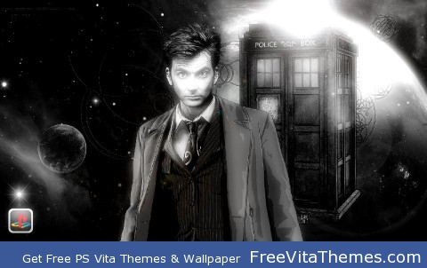 Doctor Who Tenth Doctor PS Vita Wallpaper