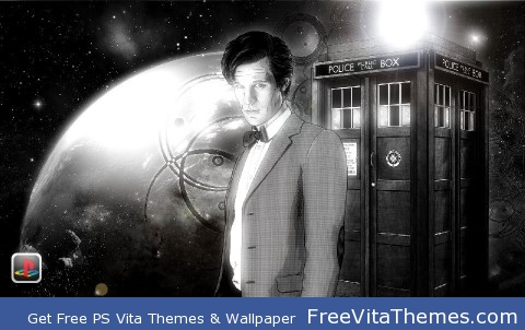 Doctor Who Eleventh Doctor PS Vita Wallpaper