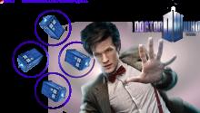 Download Doctor Who 'Dynamic' Wallpaper PS Vita Wallpaper