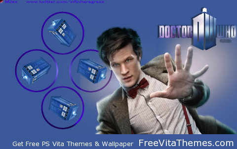 Doctor Who 'Dynamic' Wallpaper PS Vita Wallpaper