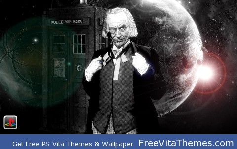 Doctor Who First Doctor PS Vita Wallpaper