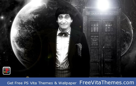 Doctor Who Second Doctor PS Vita Wallpaper