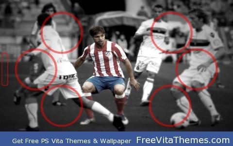 Atletico de Madrid 2012_5 PS Vita Wallpaper