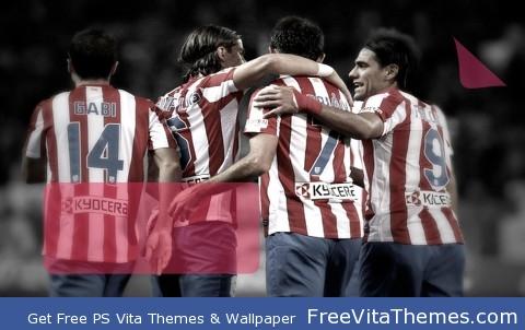 Atletico Madrid 2012_1 PS Vita Wallpaper