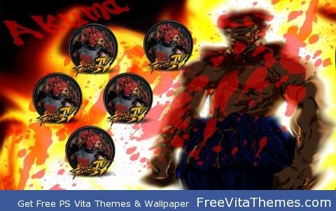Akuma Wallpaper PS Vita Wallpaper