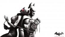Download Batman & Catwoman Arkham City PS Vita Wallpaper